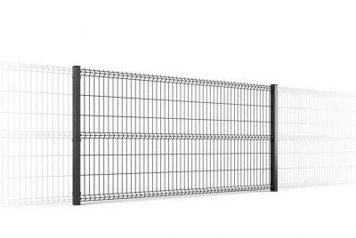 Забор из сетки 3Д