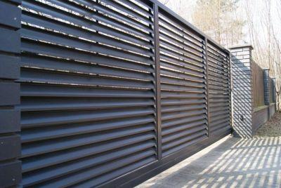 Забор и вотора горизонтальные