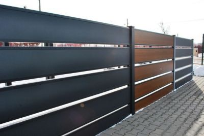 Горизонтальный забор