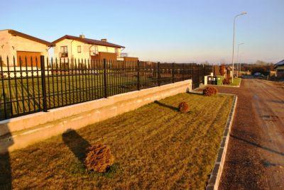 Кованный забор из металла