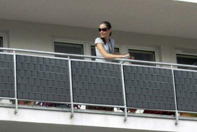Пластиковая лента для балкона