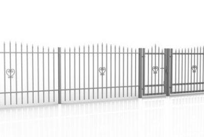 Сворной металлический забор