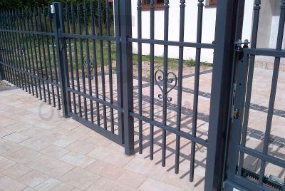 Забор и калитка из металла