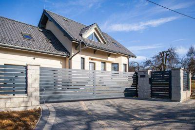 Забор из алюминия