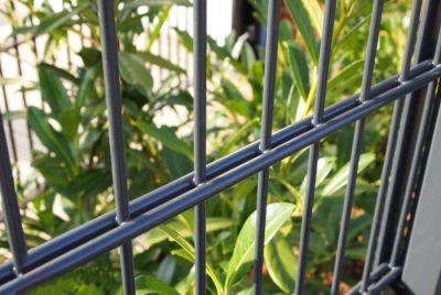 Забор из сетки рябицы 2Д