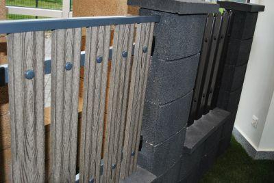 забор из композитных материалов